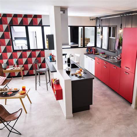 cuisine ouverte salon petit espace amenagement salon cuisine petit espace 4 cuisine semi