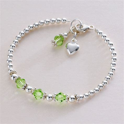 Birthstone Bracelet, Sterling Silver  Jewels 4 Girls. Exercise Watches. Romantic Wedding Rings. Large Flower Brooch. Low Key Engagement Rings. Flat Rings. 10 Sterling Silver Ankle Bracelets. Vintage Czech Glass Beads. Waterproof Bracelet