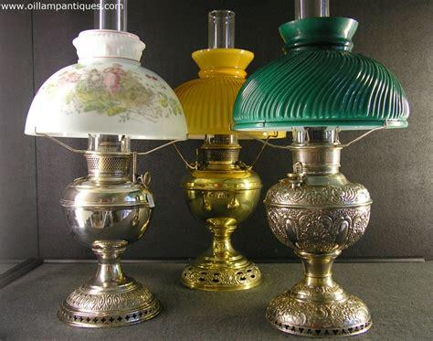 Two Bulb Table Lamp by Antique Kerosene Oil Lamps