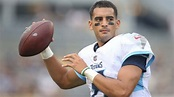 Marcus Mariota showing signs of improvement in practice ...