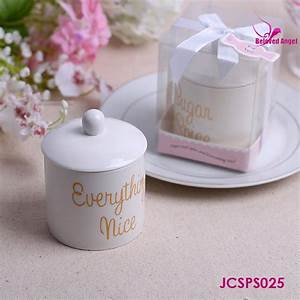 quotsugar spice and everything nicequot ceramic sugar bowl With wedding party favors wholesale