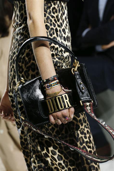 dior springsummer  runway bag collection spotted fashion