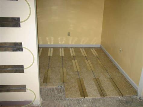 Radiant Floor Heating Bathroom by Best Radiant Floor Heating Reviews Heater Hound