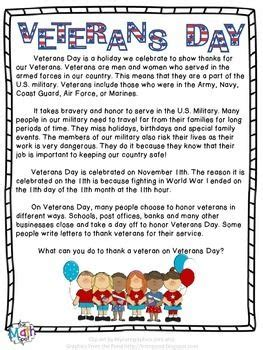 page summary  veterans day