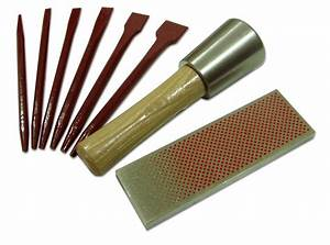 Carbide tipped letter cutting kit for marble soft stone for Stone lettering tools