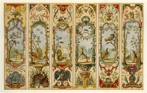 tapis de la savonnerie salon de l este les fables du paravent ad vivum