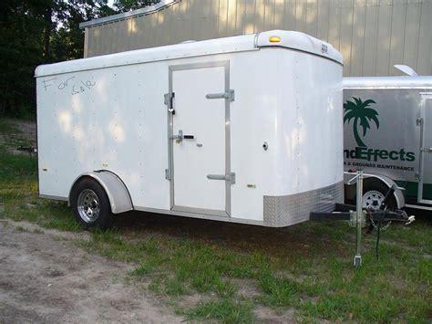 horton hauler enclosed trailer  sale pics lawnsite