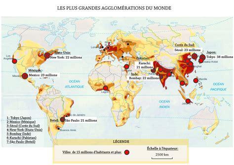 Carte Du Monde Villes Mondiales by Les Grandes M 233 Gapoles Du Monde Cm2 Le Du Ma 238 Tre