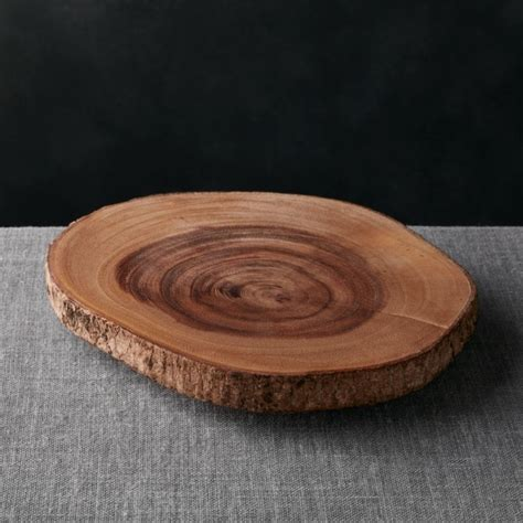 Acacia Wood Server + Reviews | Crate and Barrel
