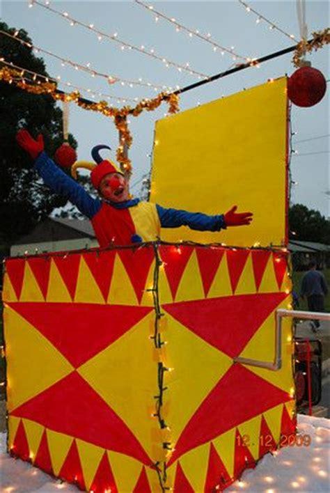 jack   box babes  toyland float parade floats
