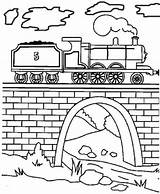 Coloring Tunnel Engine Train Pages Steam James Tank Thomas Drawing Draw Drawings Friends Printable V8 Paint Getcolorings 49kb 400px Mavis sketch template