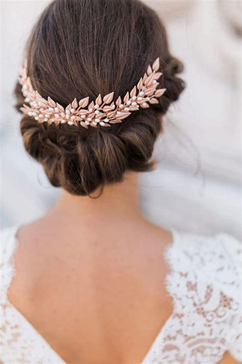 Our Favorite Bridal Hair Accessories Kate Mcdonald