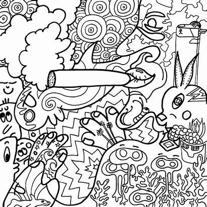 Stoner Drawing Coloring Pages