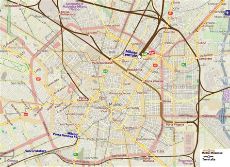 map  milano travelquazcom