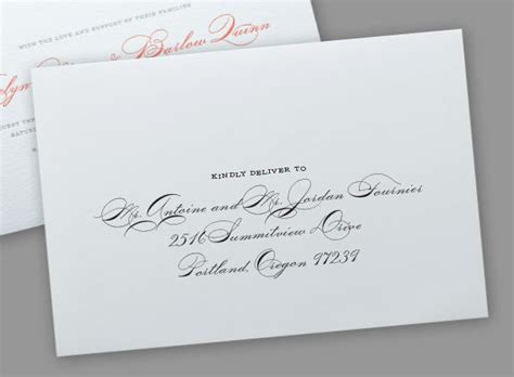 Addressing Wedding Invitations To Samesex Couples