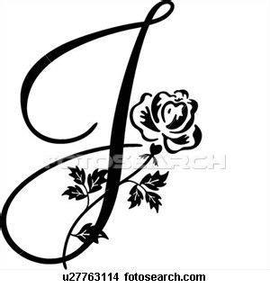 fancy cursive capital   letter letter  tattoo  tattoo fancy cursive