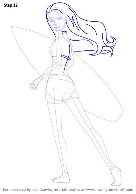 learn   draw merliah summers  barbie   mermaid