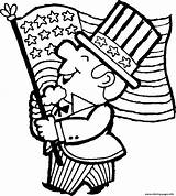 Flag Coloring Printable sketch template