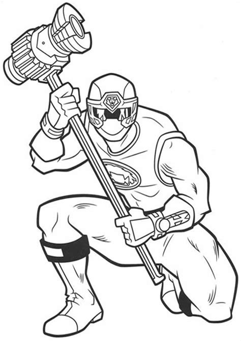 easy  print power rangers coloring pages tulamama