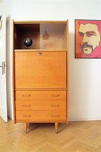 Bureau Secretaire Vintage : secr taire bureau vintage ann es 60 style scandinave ~ Teatrodelosmanantiales.com Idées de Décoration