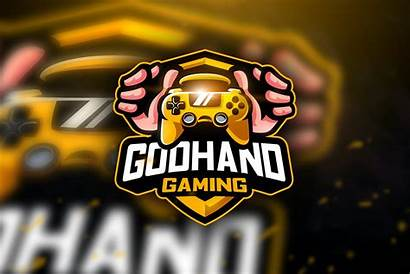 Gaming Esport Mascot Team Elements Godhand Templates
