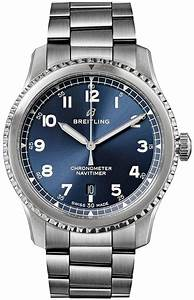 a17314101c1a1 breitling navitimer 8 blue automatic 41