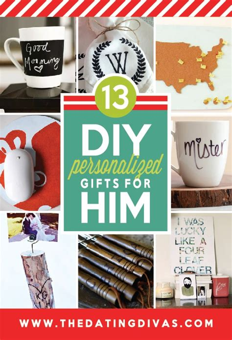 101 diy christmas gifts for him the dating divas