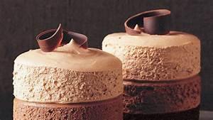 Triple-Chocolate Mousse Cakes Recipe Martha Stewart