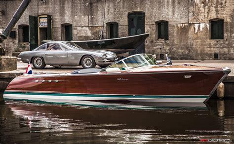 Riva Boats For Restoration by Rare Lamborghini Boat Restored By Riva World
