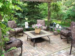 patio style creating outdoor spaces for country living