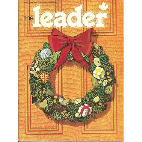 scouts canada leader magazine november 1978 vol 9 number 3
