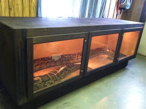 Building A Burmese Python Enclosure