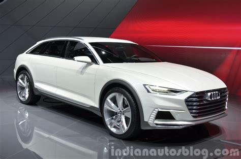 Audi Prologue Allroad Concept Front Three Quarters Close