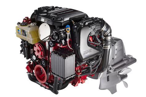 volvo penta set  debut sterndrives  gm engines