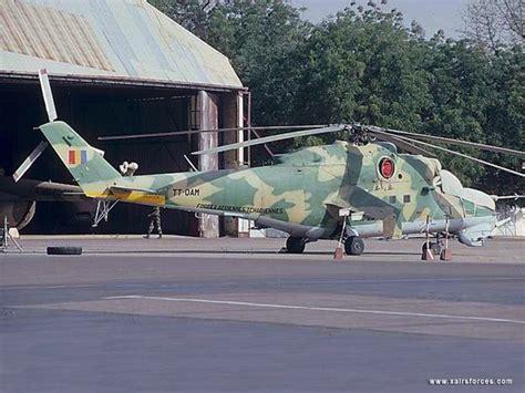 Burundi Mil Mi-24V Hind-E - Chadian Air Force • Force ...