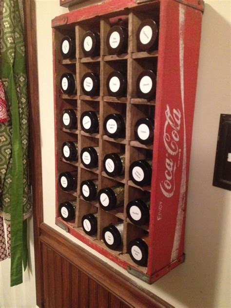 Complete Spice Rack by Coke Crate Spice Rack Complete Spice Racks