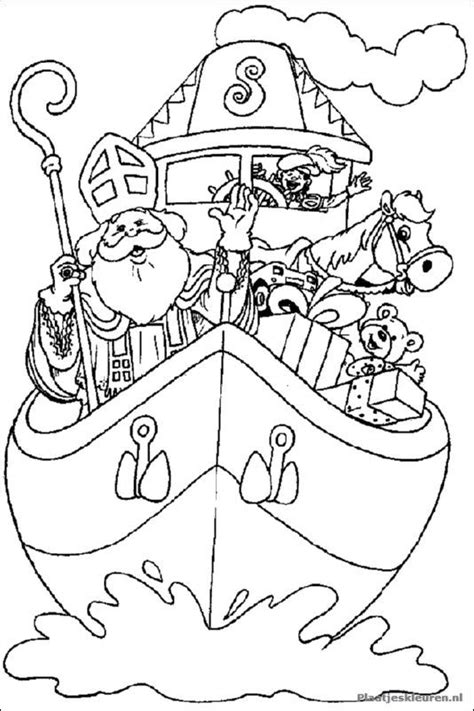 Kleurplaat Kunst Kinderen by Kleurplaat Sinterklaas Colouring Pages For The