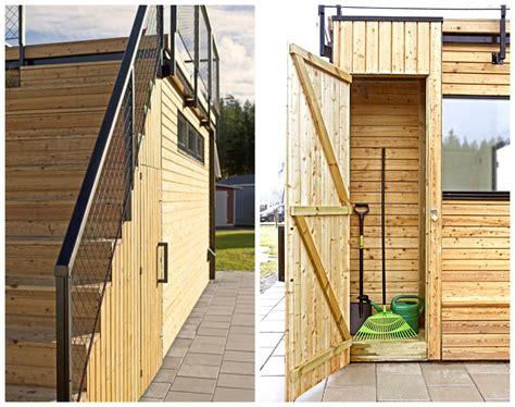 swedish cabin  roof top garden  retractable outdoor