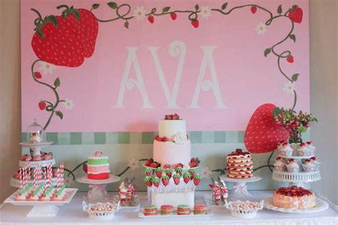 kara 39 s party ideas strawberry 1st birthday party kara 39 s kara 39 s party ideas strawberry shortcake girl 2nd birthday
