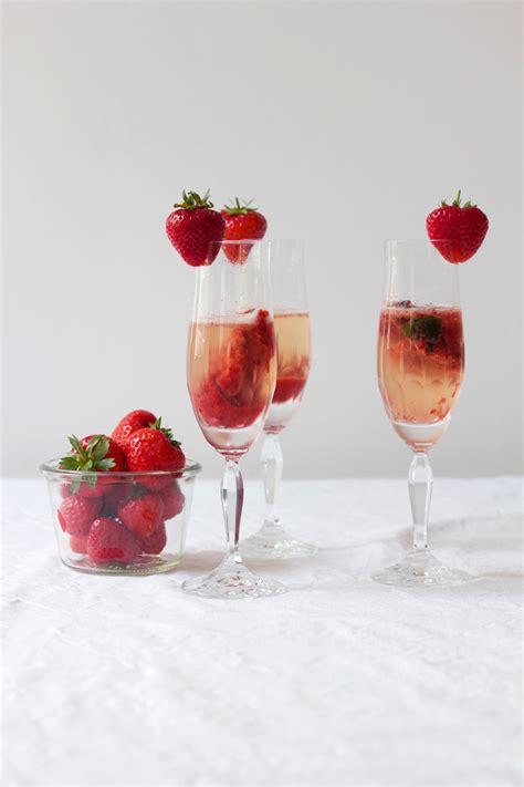drinks erdbeer secco  love handmade