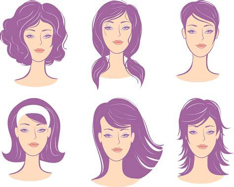 haircuts  face shapes  beauty
