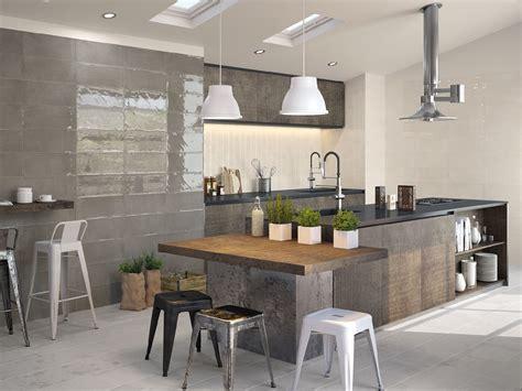 cuisine 9m2 avec ilot tne kitchen tiles