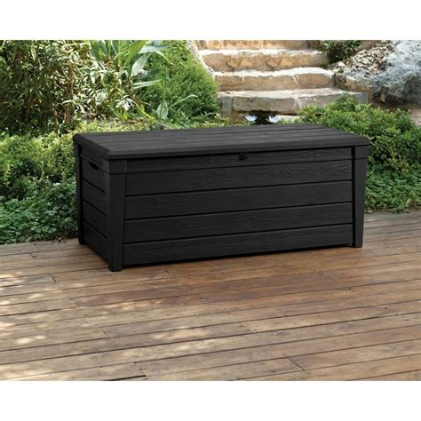 keter keter brightwood 120 gallon outdoor garden patio