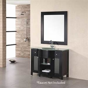 Design Element 43quot Rome Single Sink Bathroom Vanity