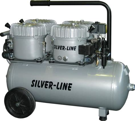 kompressor    tystgaende silver