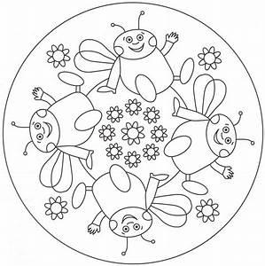 Mandalas Infantiles Para Colorear | www.pixshark.com ...