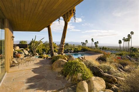 R Home Design Palm Desert : Edris House In Palm Springs, California By E. Stewart Williams