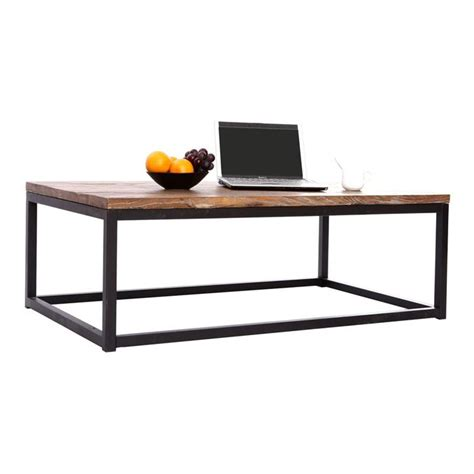 table basse industrielle bois m 233 tal factory achat vente table basse table basse factory