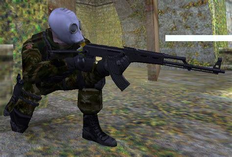 spetsnaz  gas mask counter strike  skin mods