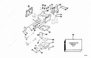 Evinrude 1978 115 - 115893c  Carburetor